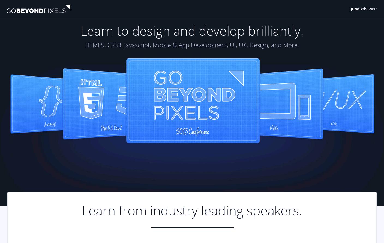 Go Beyond Pixels