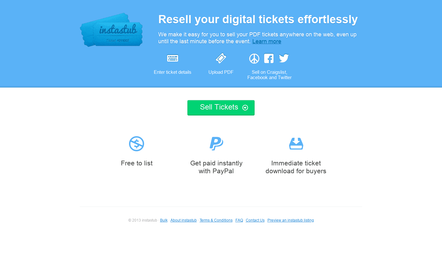 Sell Tickets with Ease