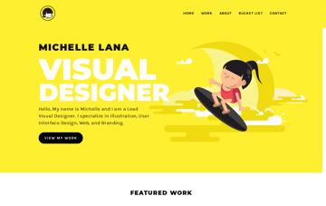Michelle Lana Web Design