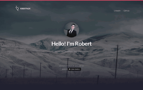 Robert Pazik Web Design