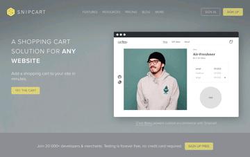 Snipcart Web Design
