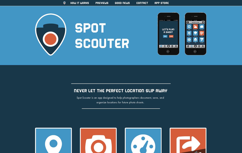 Spot Scouter App