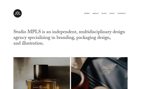 Studio MPLS  Web Design