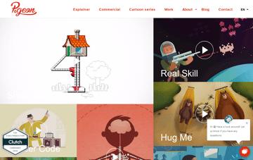 Studio Pigeon Web Design