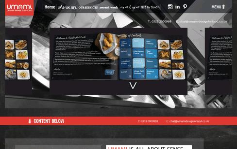 Umami Web Design