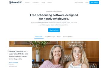 ZoomShift Web Design