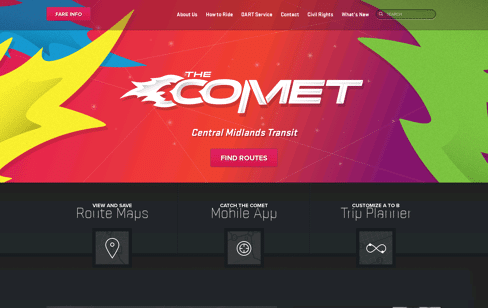 The COMET Web Design