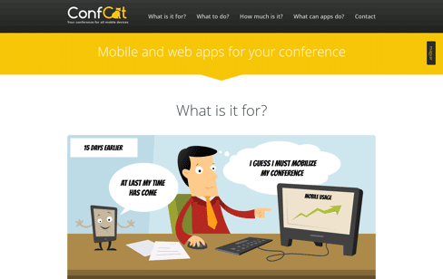 ConfCat Web Design