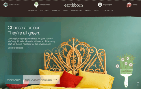 Breathable Designer Paint Web Design