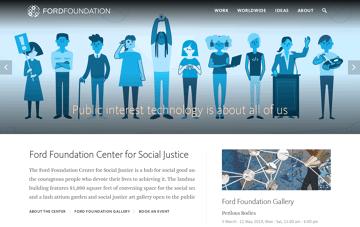 Ford Foundation Web Design