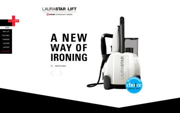 Laurastar Lift Web Design