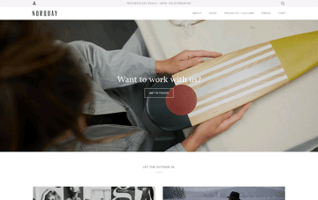 norquayco, paddles & canoes Web Design