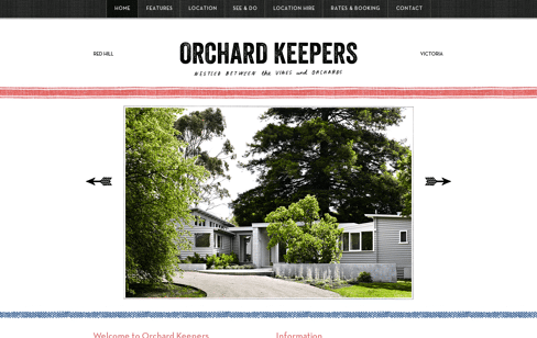 Orchard Keepers Web Design