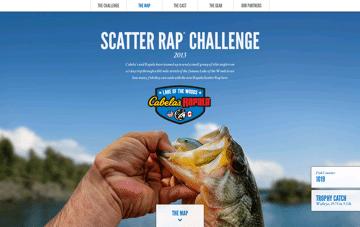 Scatter Rap Challenge 2013 Web Design