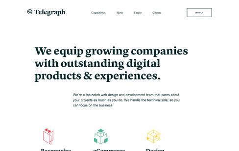 Telegraph Web Design