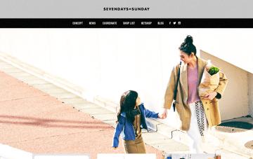 SEVENDAYS=SUNDAY Web Design