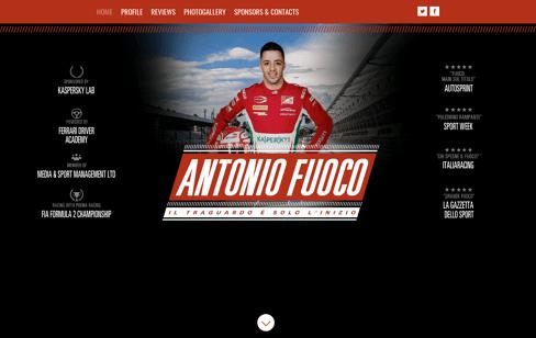 Antonio Fuoco Web Design