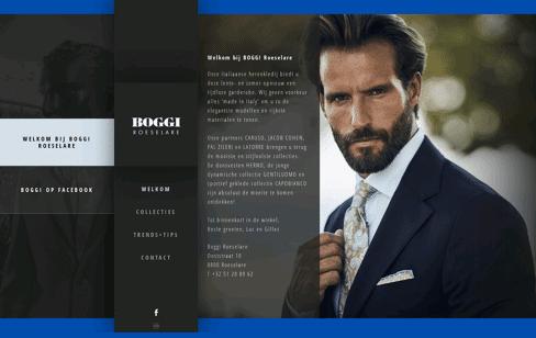 Boggi Roeselare Web Design