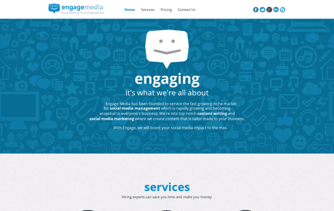 Engage Media Web Design