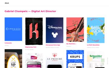 Gabriel Champeix Web Design