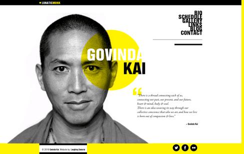 Govinda Kai Web Design