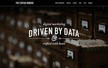 The Status Bureau Web Design