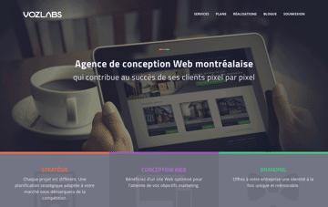 Agence Voz Labs Web Design