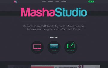 MashaStudio Web Design