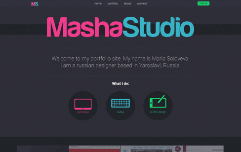 MashaStudio Web Design
