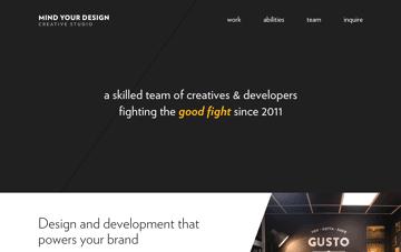 Mind Your Design Web Design