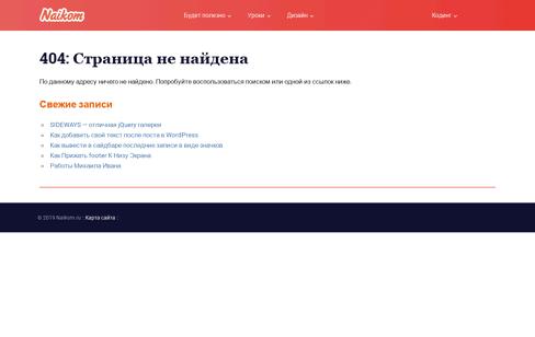 Naikom portfolio Web Design