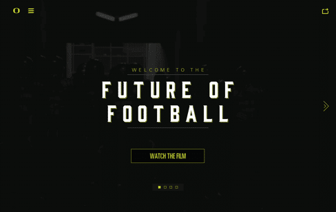 Welcome to the Future of Football Web Design