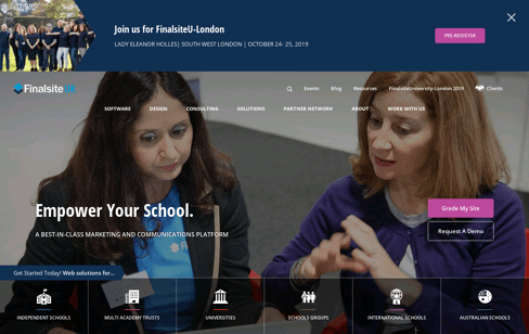 School Website Web Design