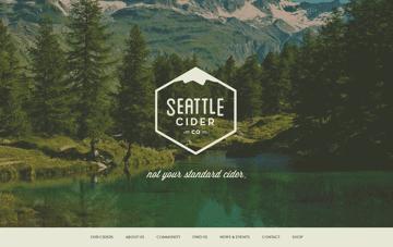 Seattle Cider Company Web Design