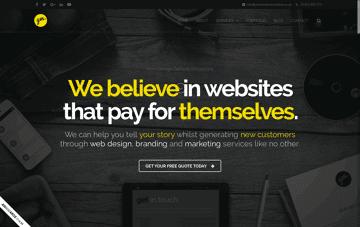 Yellow Marshmallow Web Design