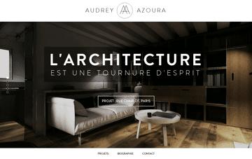 Audrey Azoura : Architecte d'intérieur - Paris Web Design