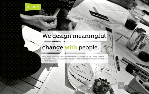 Doris Research Web Design