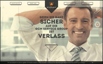 GCM Service Group Web Design