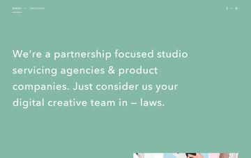 HARBR | Digital Creative Company Web Design