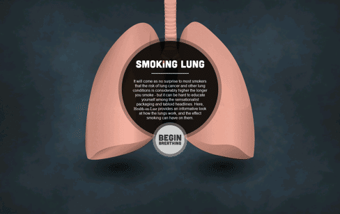 Smoking Lung Web Design