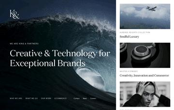 King & Partners Web Design