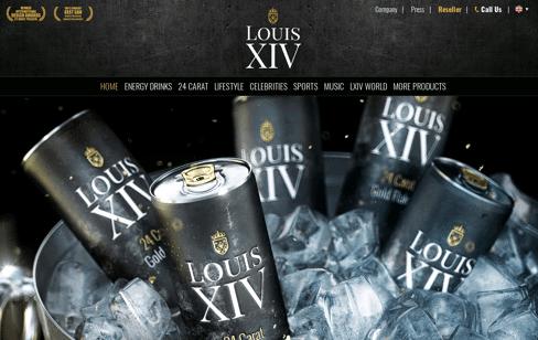 Louis XIV Web Design