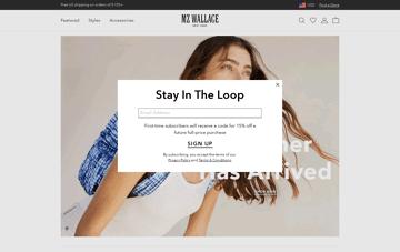 MZ Wallace  Web Design