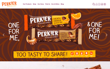 Perkier  Web Design