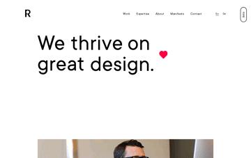 REACH Partners Web Design