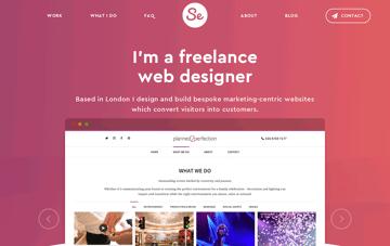 Sarah Evans Design Web Design