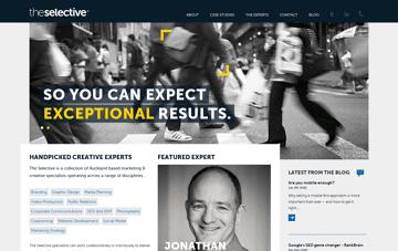 The Selective Web Design