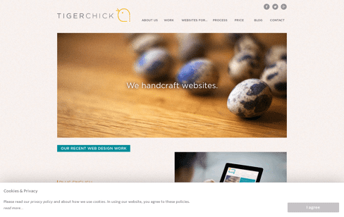 tigerchick Web Design
