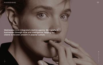 Wednesday Agency  Web Design