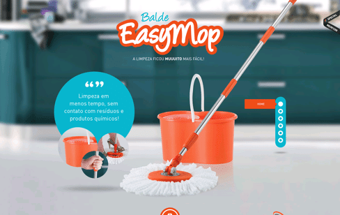Balde Easymop Web Design